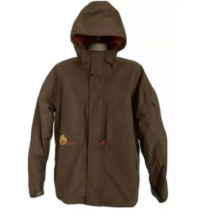 BURTON Brown Hooded Ski Snowboard Jacket Coat XL